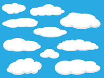 Clouds pack Royalty Free Stock Images