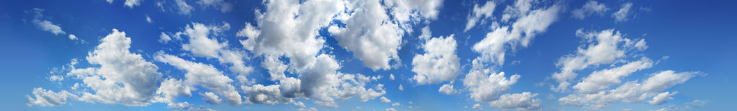 Clouds Panorama Royalty Free Stock Images