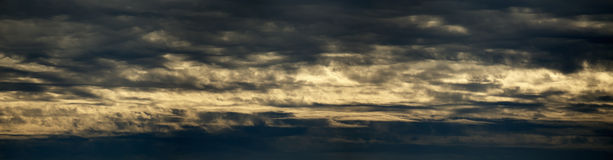 Clouds panorama Royalty Free Stock Image