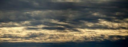 Clouds panorama Stock Photos