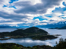 Clouds in patagonia Royalty Free Stock Photos