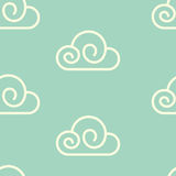 Clouds Pattern Royalty Free Stock Images