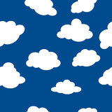 Clouds pattern Stock Image