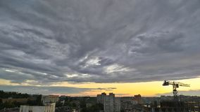 Clouds. Photo taken in Kiev - Ukraine 07/09/2017 royalty free stock photos