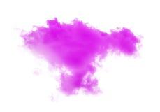 Clouds or pink smoke Stock Photos
