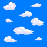 Clouds_pixel jpg Obrazy Stock