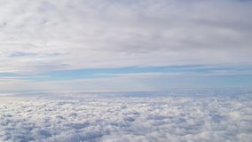 Clouds from air stock photo