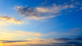 Clouds before the rain as a background.  royalty free stock images