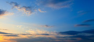 Clouds before the rain as a background.  royalty free stock photography