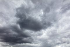 Clouds before the rain as a background.  stock photos