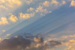 Clouds before the rain as a background.  royalty free stock photo
