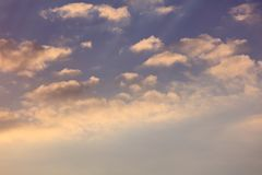 Clouds before the rain as a background.  stock photography