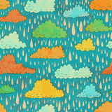 Clouds and rain Royalty Free Stock Image