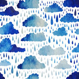 Clouds and rain. Royalty Free Stock Photo