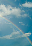 Clouds with rainbow Royalty Free Stock Photos
