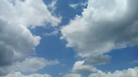 Clouds rainstorms Royalty Free Stock Image