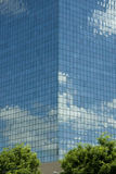 Clouds reflect on skyscraper Royalty Free Stock Photo