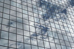 Clouds reflected background Stock Photos