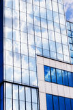 Clouds reflected in windows Royalty Free Stock Photography