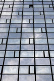 Clouds reflection Royalty Free Stock Photo