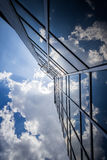 Clouds reflection royalty free stock image