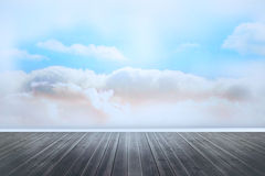 Clouds in a room Stock Image