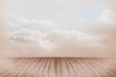 Clouds in a room Royalty Free Stock Images
