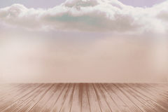 Clouds in a room Royalty Free Stock Photo