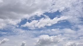 Clouds running. stock video footage