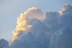 Clouds, scene with space for text. Stock Image