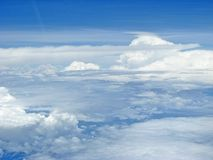Clouds scenery. Divine clouds scenery nature beauty Stock Photos