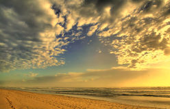 Clouds And Sea Royalty Free Stock Photography