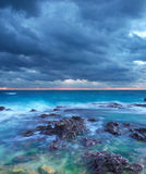Clouds and sea Stock Images