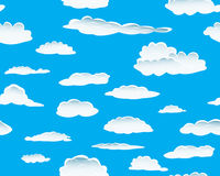 Clouds seamless Royalty Free Stock Photos