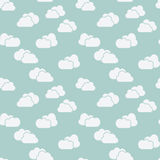Clouds seamless background Stock Photo