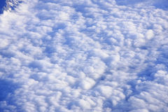 Clouds seen from above. The clouds seen from above Royalty Free Stock Photography