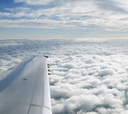 Clouds Seen From Airplane Stock Photos