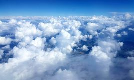 Clouds from above Royalty Free Stock Photography