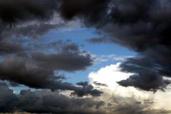 Clouds and skies Stock Images
