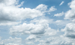 The clouds and skies Royalty Free Stock Photo