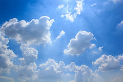 Clouds and Skies. Royalty Free Stock Image