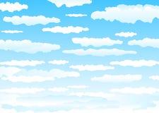 Clouds_sky Fotos de Stock Royalty Free