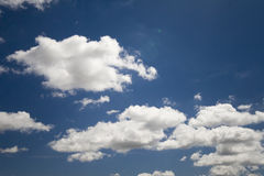 Clouds in the sky Royalty Free Stock Image