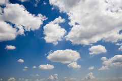 Clouds on the sky Stock Images