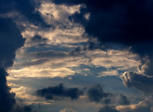 Clouds and sky Stock Image