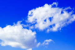 The clouds on  sky. Royalty Free Stock Images