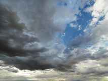 Clouds in sky. Royalty Free Stock Photography