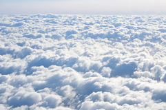 The clouds in the sky Royalty Free Stock Photography
