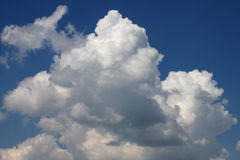 Clouds in a sky Royalty Free Stock Image