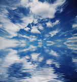 Clouds and sky Stock Images